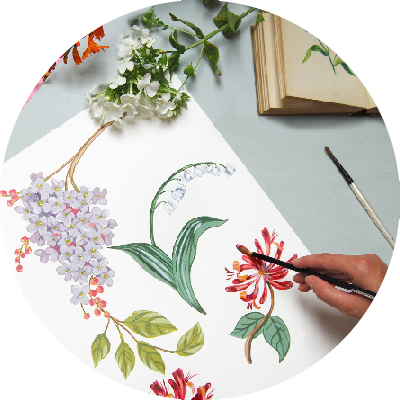 2. original artwork - Starting with hand-rendered or digital artwork, our talented team will work quickly to create beautiful, bespoke print designs in a timescale that suits you. We can design entire print collections, one-off designs or rework existing designs.