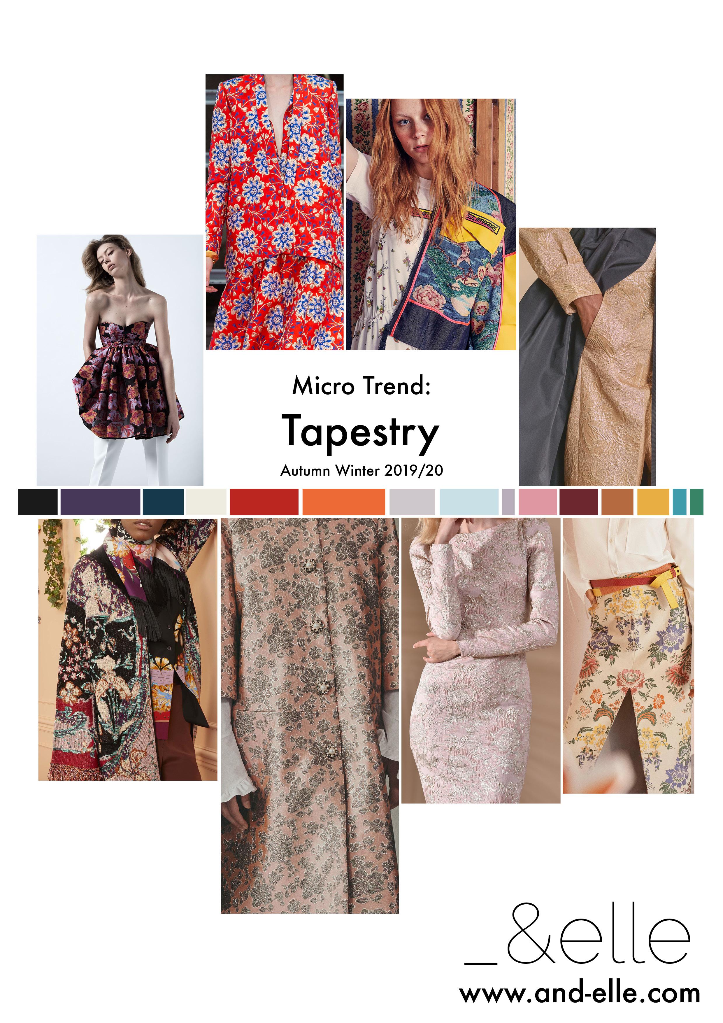 Print Design Trend Report AW2019 RTW Womenswear
