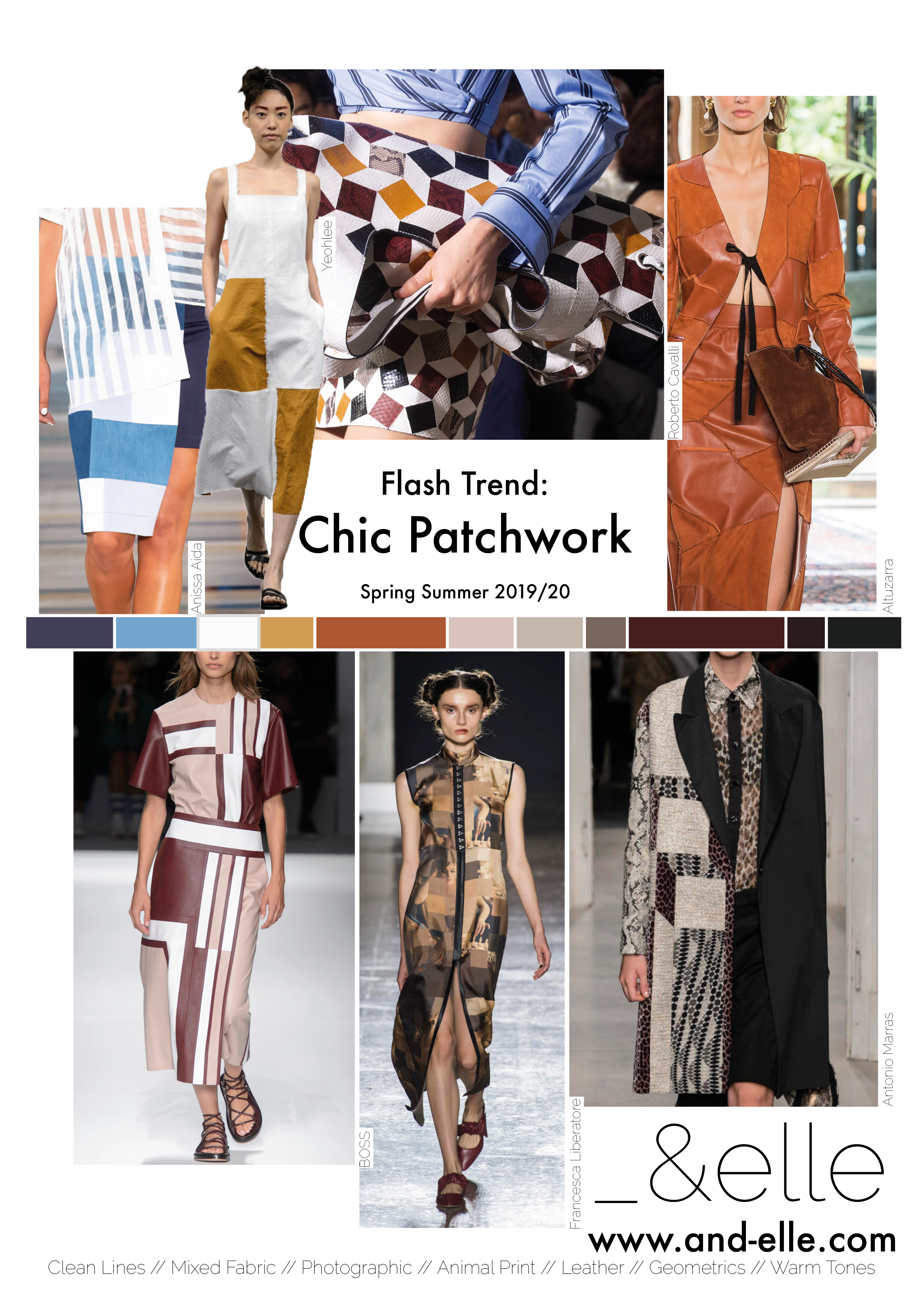 Trend Report SS19 Print Design Patchwork Chic