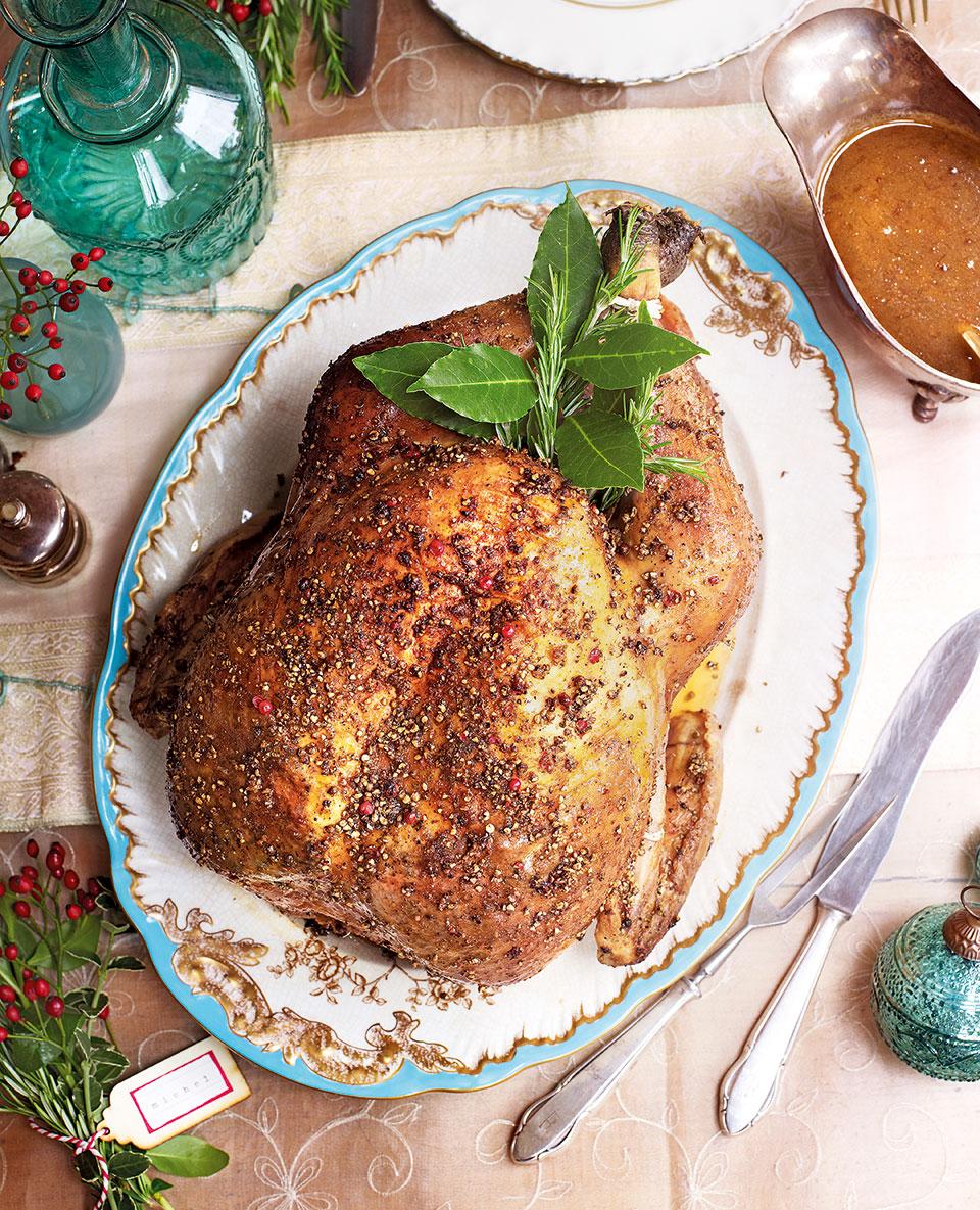 Peppered turkey