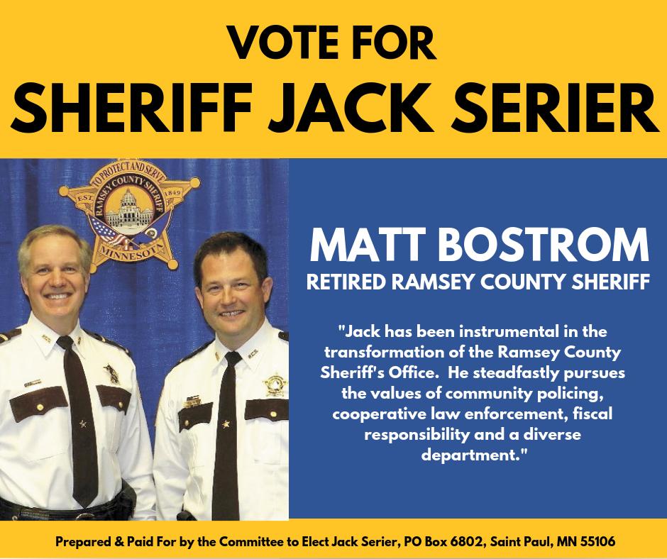 Matt Bostrom endorses Jack Serier for Sheriff.png