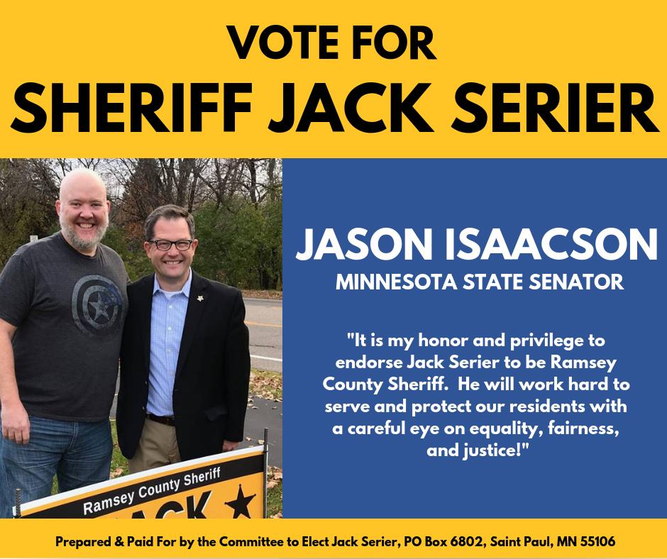 Senator Jason Isaacson endorses Jack Serier.png