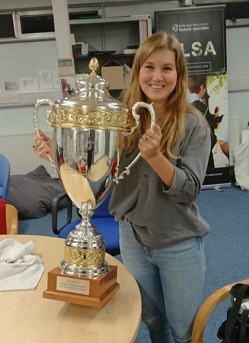 The House Cup, kindly donated by Staff President, Professor Lemoine