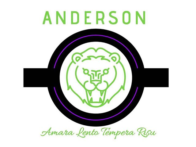 Garret Anderson house logo with its green colours and house motto at the bottom. Named after Elizabeth Garret Anderson, the first woman to qualify as a physician and surgeon in Britain, and cofounder of the first hospital staffed by women and the first dean of a British medical school.