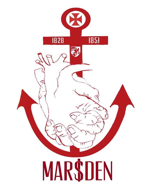 House Marsden logo up next. Named after William Marsden, a surgeon who founded the Royal Free (for poor patients) and the Royal Marsden (for cancer patients) Hospitals in 1828 and 1851 respectively.