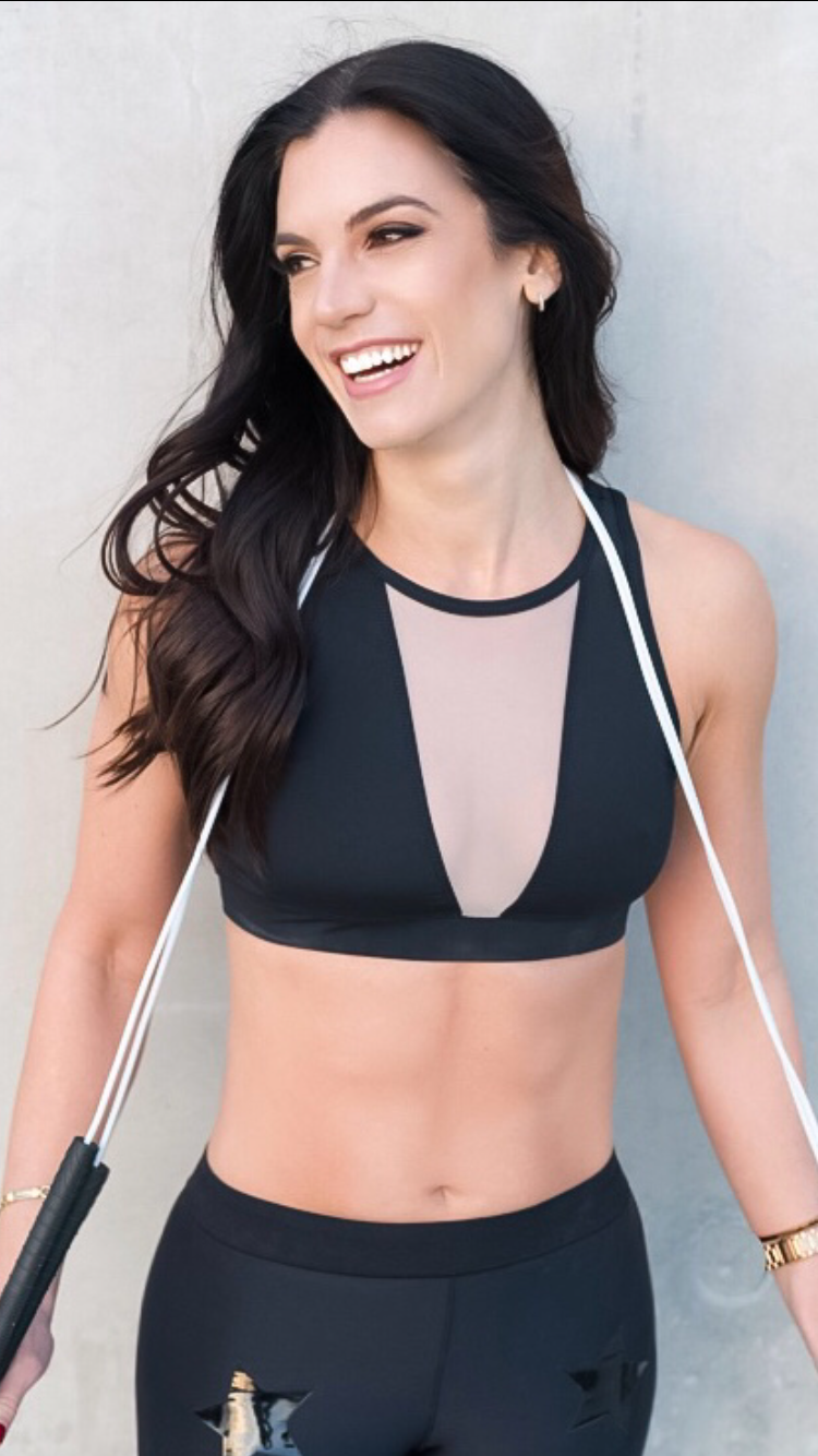 """Cardio-Focused Sessions - Master your cardiovascular endurance.With a groove-worthy playlist, learn to jump rope again with Rachel Jablow of Get Roped™️, a method that incorporates strength and conditioning through interval training, using only a jump rope.You might be saying to yourself, """"I can't jump rope."""" Well, we have a gal for that! Rachel will provide tried and true tips for getting back on the jump rope wagon with a challenging, yet encouraging energy. Each session will include a proper warm-up and cool down leveraging the simplicity of the jump rope.Get ready!This workout is tailored for all levels."""