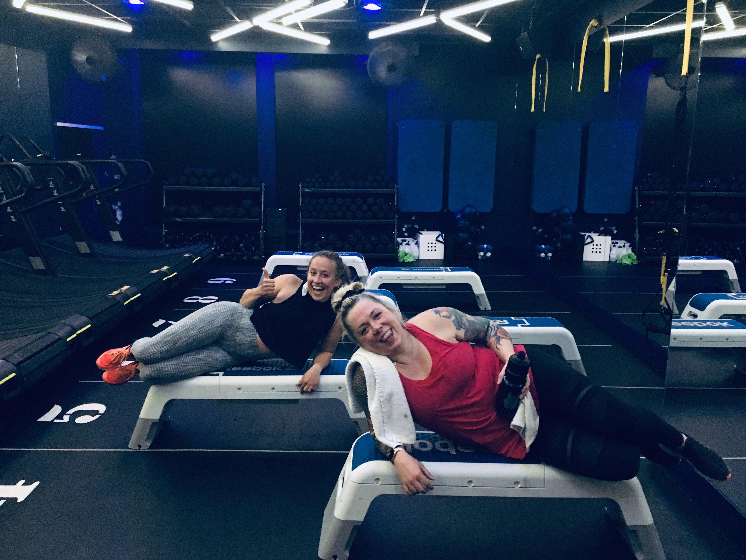 Lisa and Coach Anna