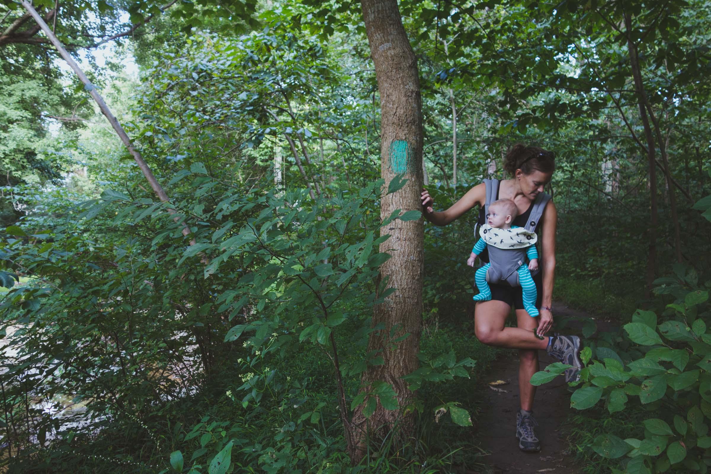 Erin & Noah. September 2017. Scott's Run Nature Preserve.
