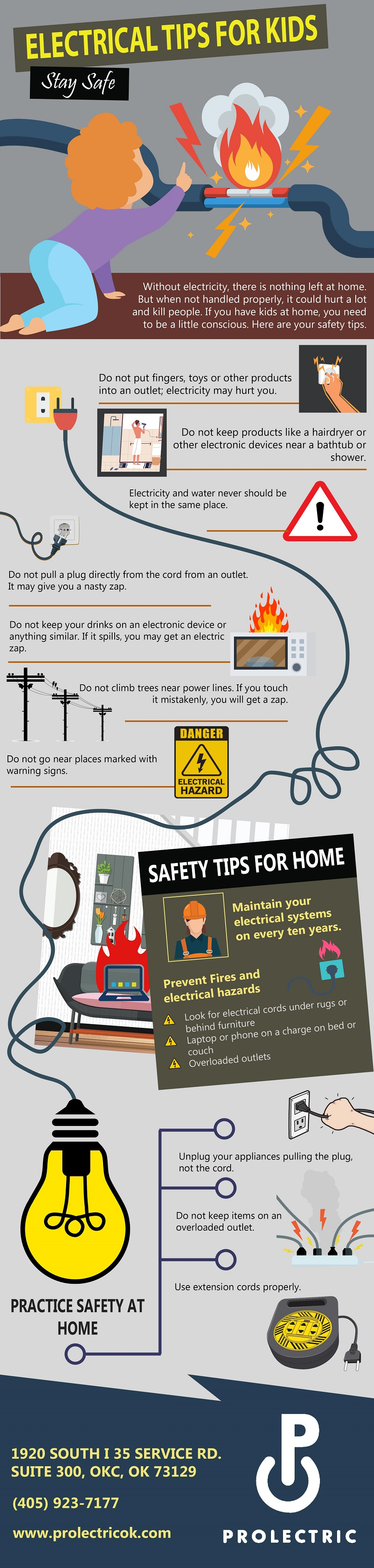 Electrical tips For Kids To Stay Safe
