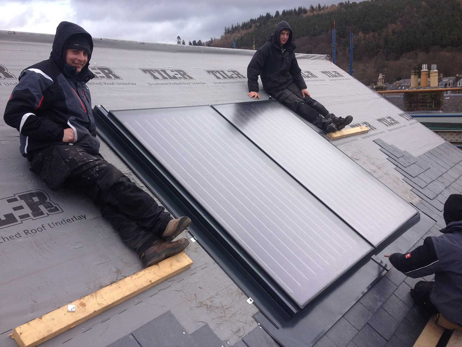 Almost there with the Solar Thermal