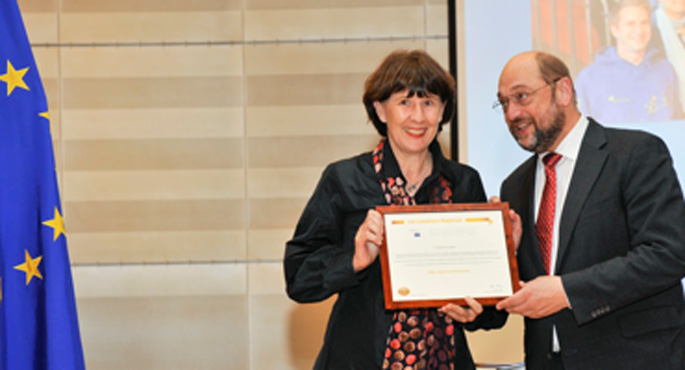 Verleihung des Europäischen Bürgerschaftspreises
