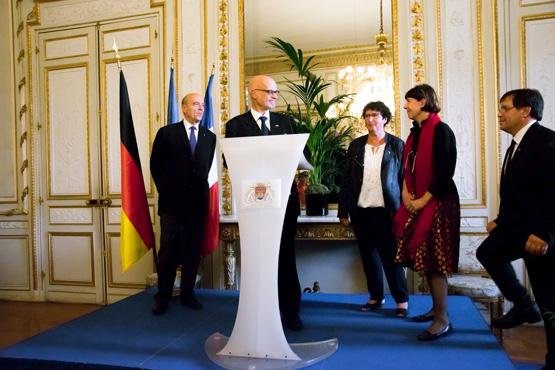 Ehrung durch das Generalkonsulat in Bordeaux