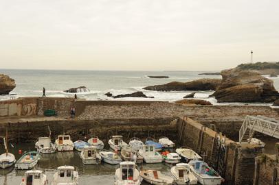 Der alte Hafen von Biarritz