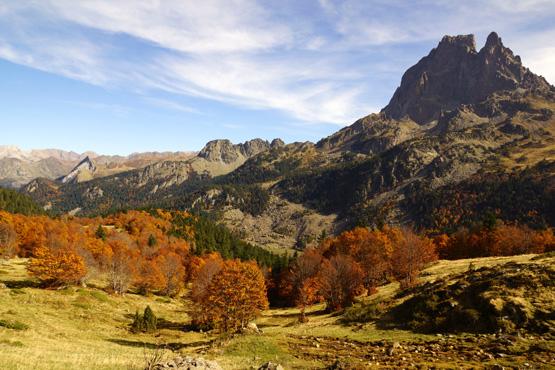 Pyrenäen im Herbst_Foto Uwe Henkhaus
