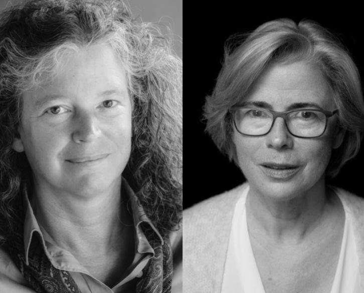 Links: PD Dr. phil. habil. Ute Gahlings M.A. Rechts: Heidemarie Bennent-Vahle