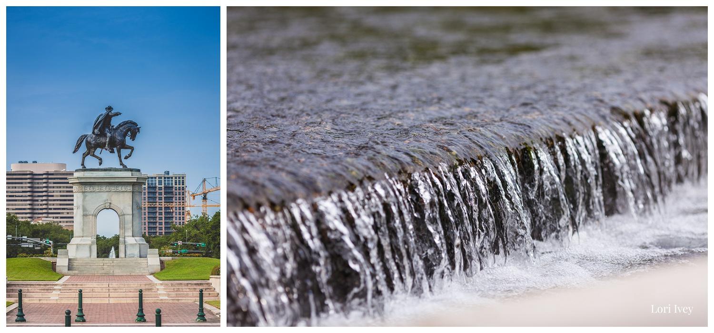 Sam Houston Monument at Hermann Park