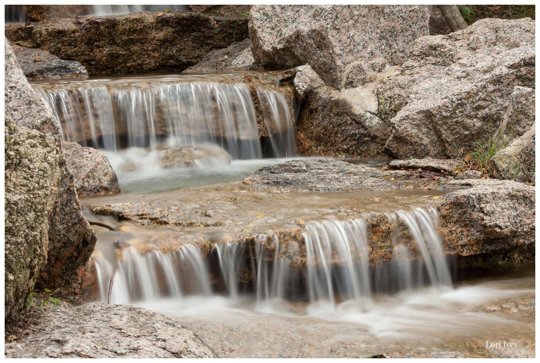 Small hidden waterfall
