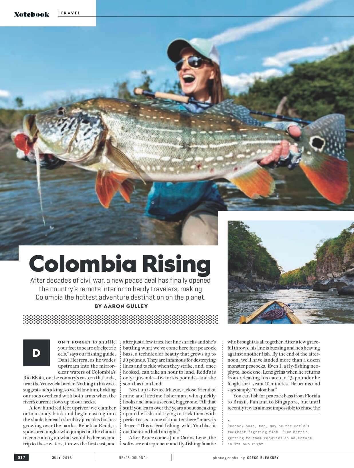 Colombia Production Services Men's Journal