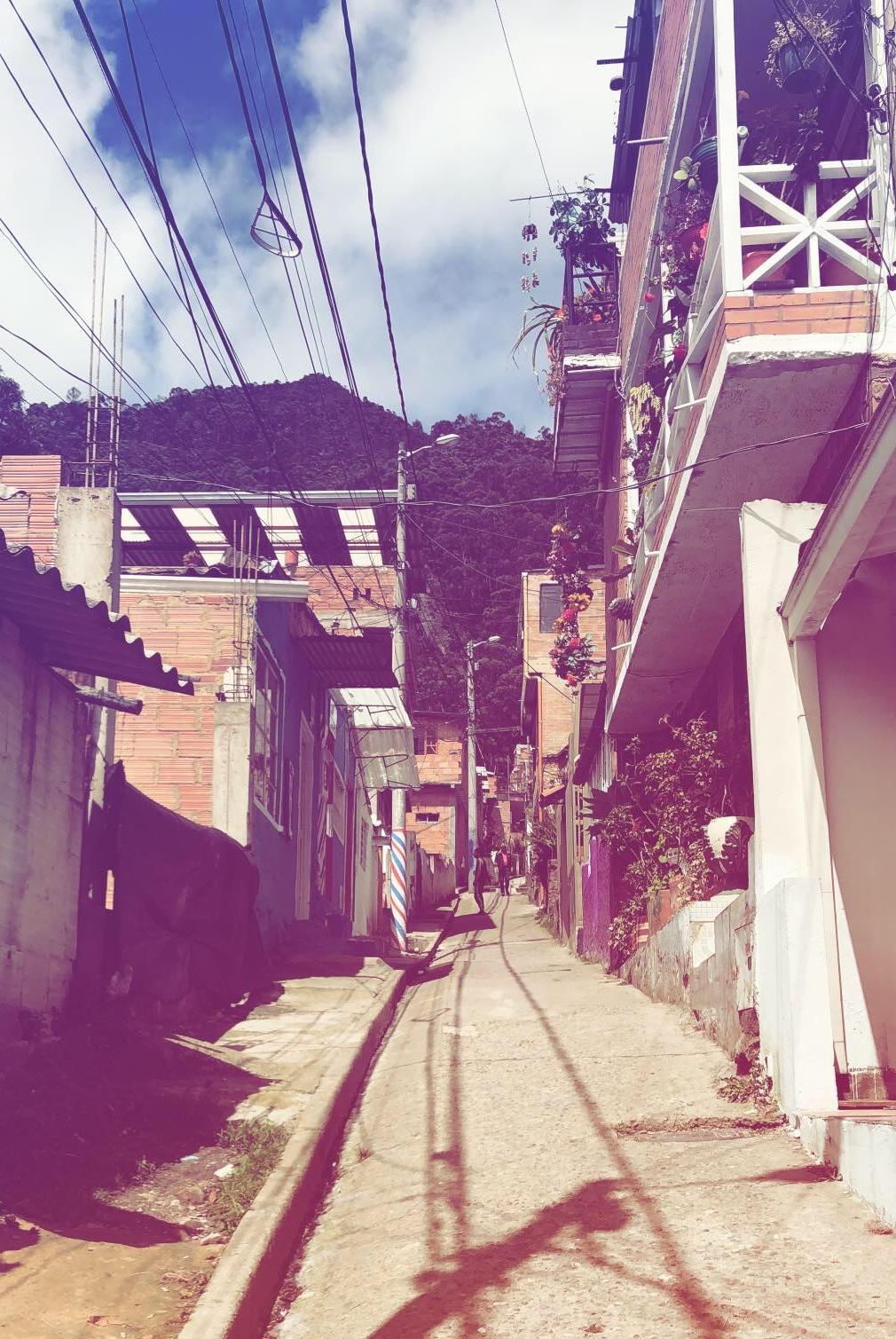 La Delicia, th neighborhood described above.