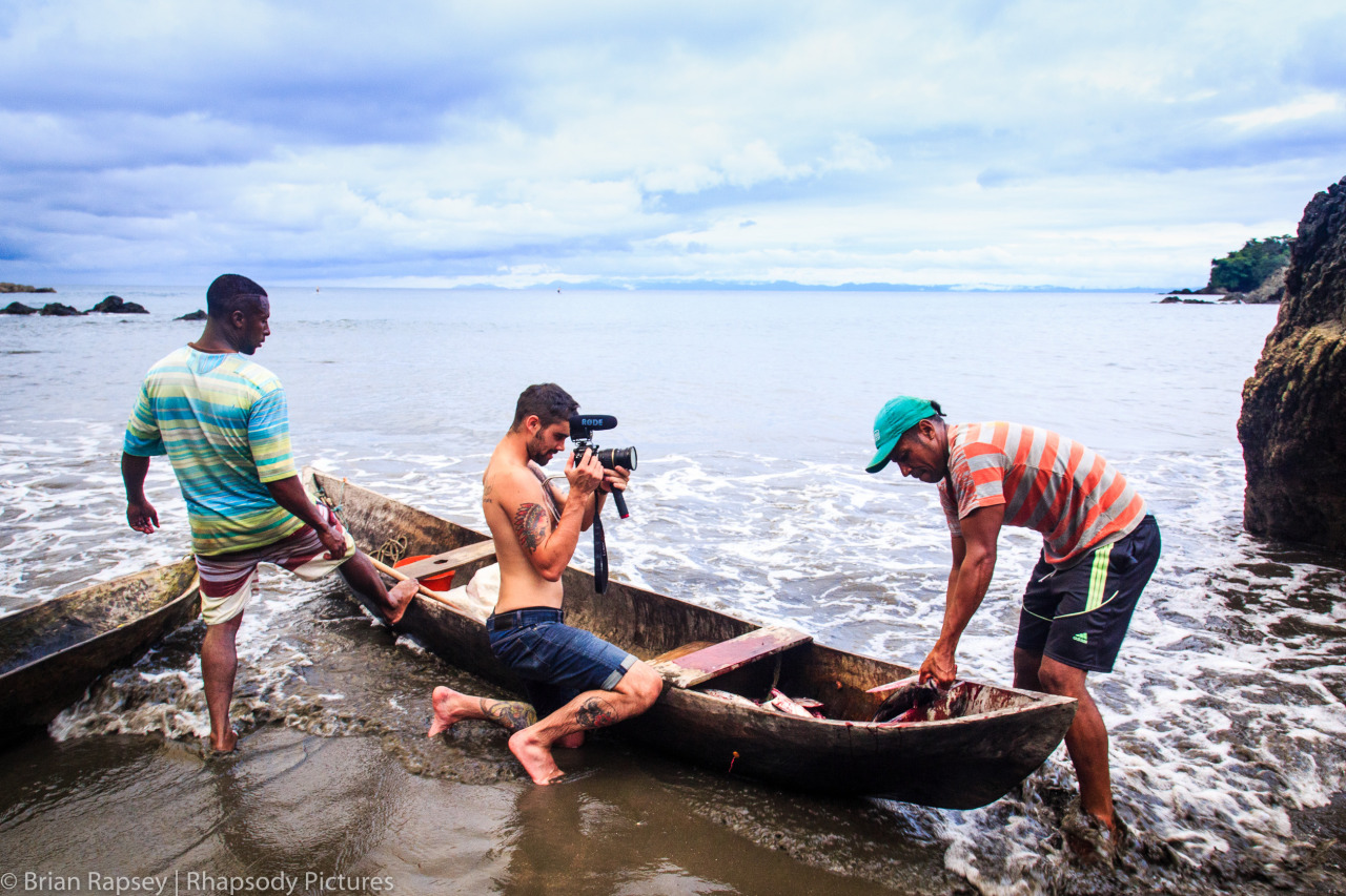 WhereNext providing film production services in Termales Beach, Colombia