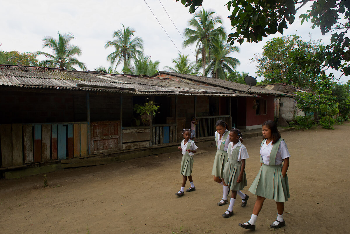 Coqui Village, Colombia. Photo: Gregg Bleakney / WhereNext