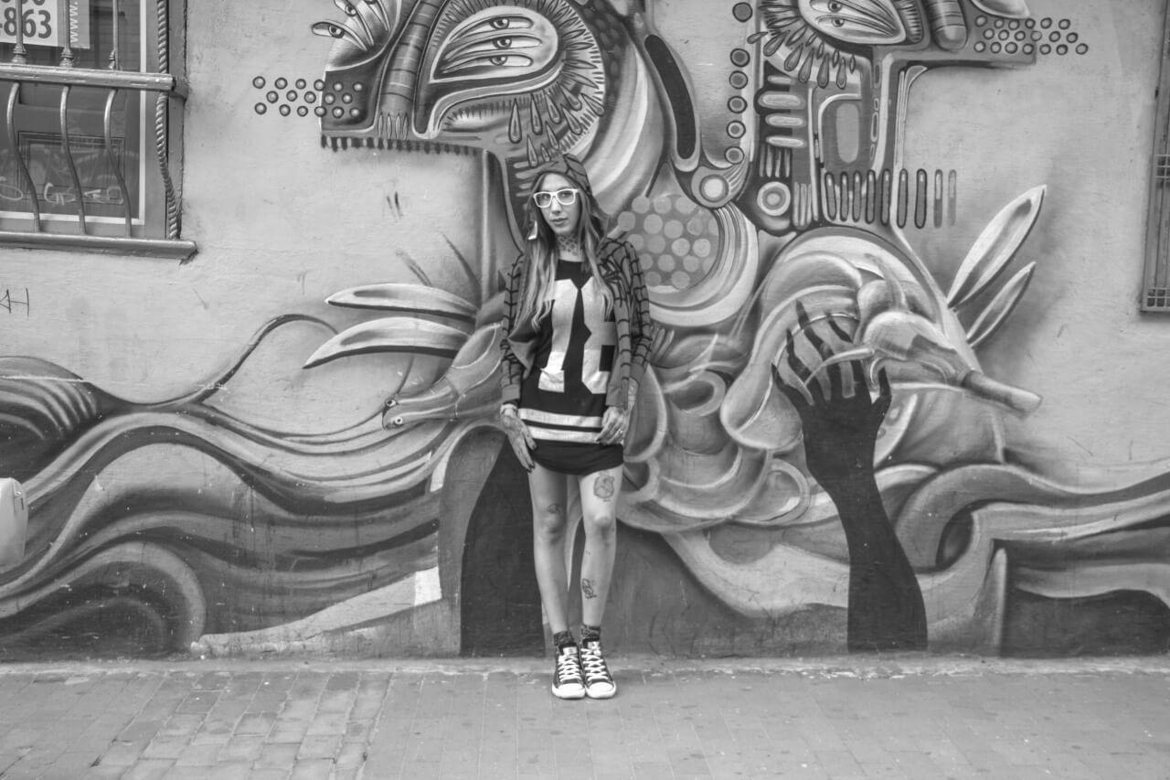 Graffiti in  Bogotá