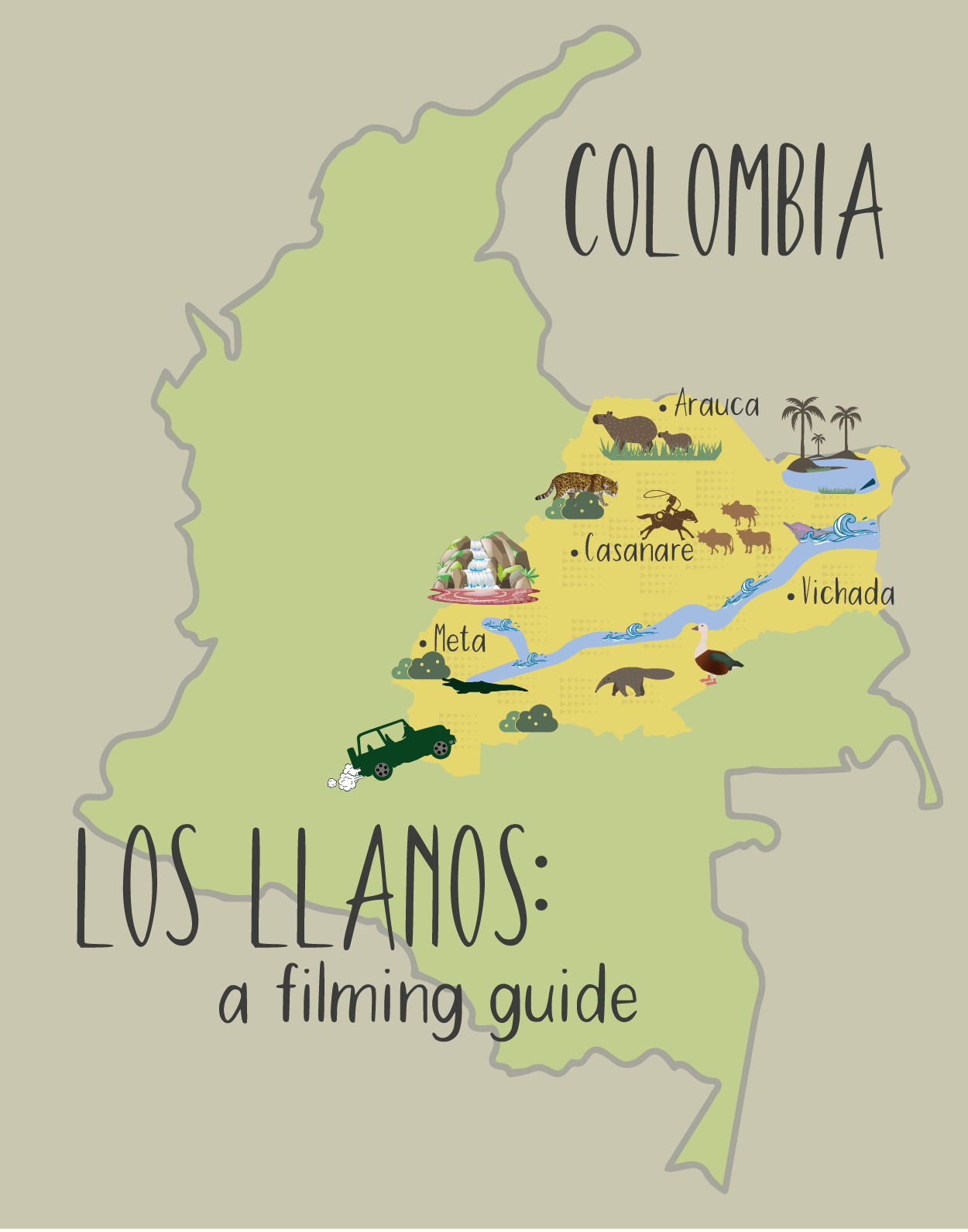 a filming guide to colombia los llanos