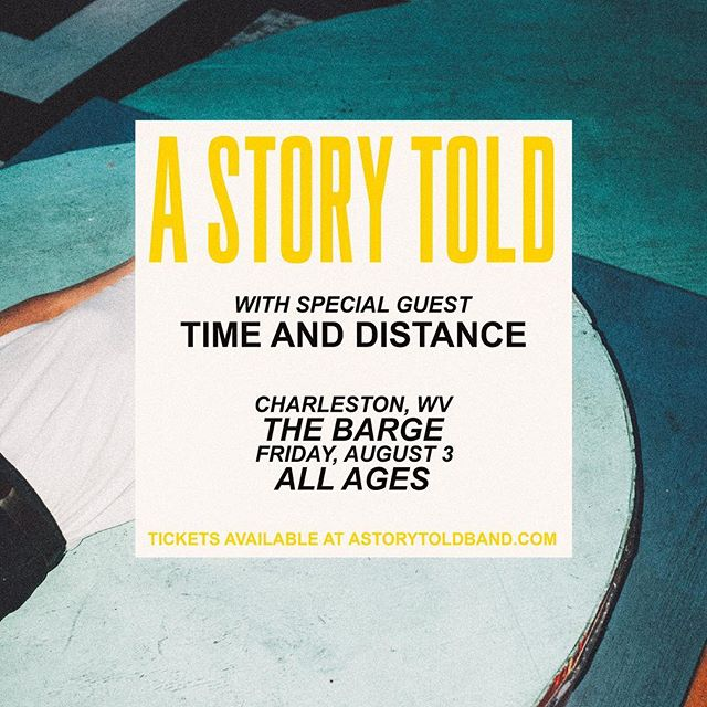 ‪Excited to spend one of our last days of summer with our hometown friends 💛 ⠀⠀⠀⠀ Our August 3rd show will now be at the Barge due to the Bakery's temporary closure. ‬ ⠀⠀⠀⠀ ‪Grab your tickets @ link in bio.