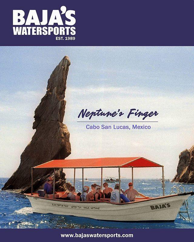 Rock formations at Cabo San Lucas Bay. #glassbottomboat #neptunesfinger #landsend #bajasteam #cabo