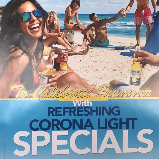 Come join us tonight from 6-8 to try our corona light on draft for only $5 a pint with our corona models, our delicious Mexican food and our tasty sangria. See you tonight!!!! 🍻🍺🌮🌮🍹#doncesarrestaurant #tottenville #mexicanfood #corona #goodvibes #summer #nightlife #statenislandfood