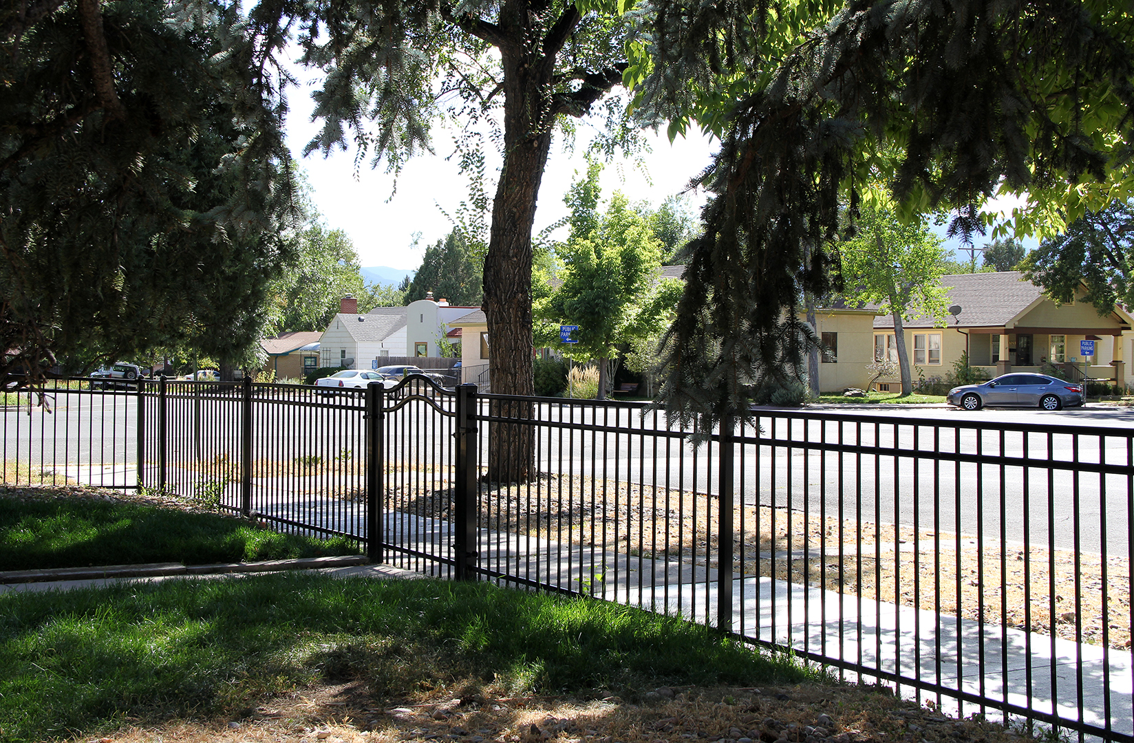 Custom Ornamental Iron Fence in Colorado Springs