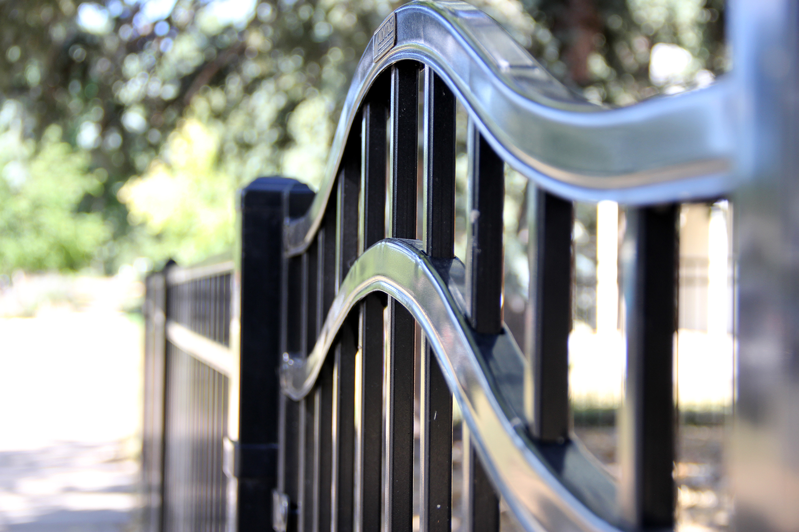 Custom Iron Fence and Gate in Colorado Springs