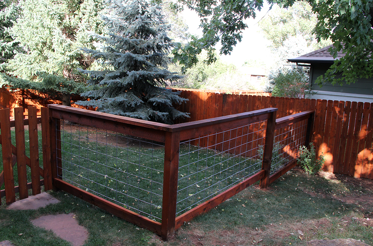 Custom Post Rail Fencing in Colorado Springs