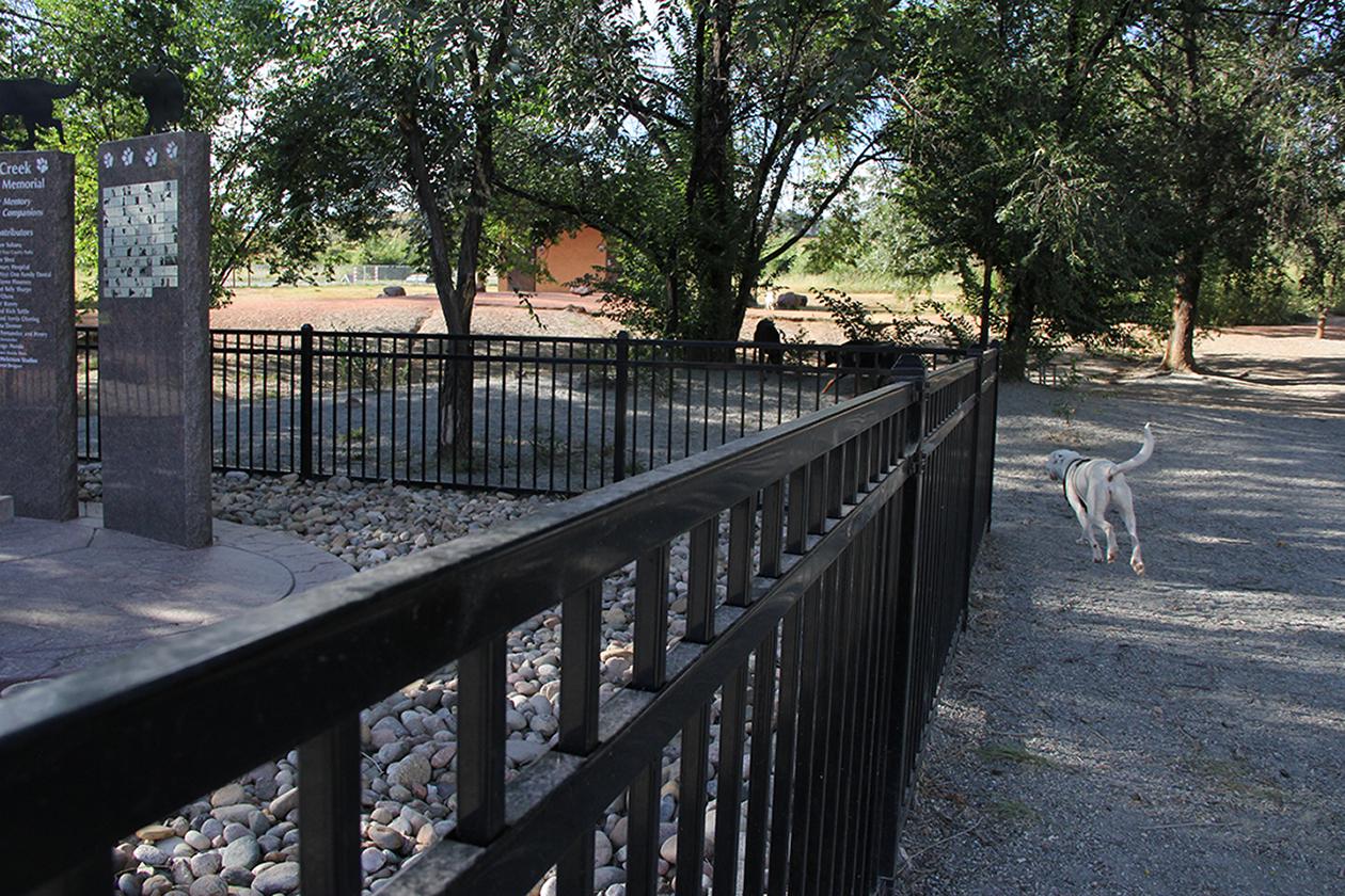 Custom Fence for Colorado Springs Donation
