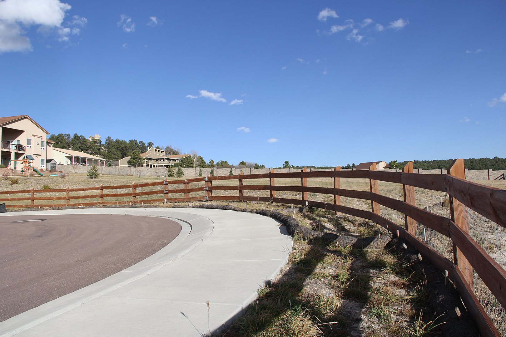 Customized Split Rail Fencing in Colorado Springs