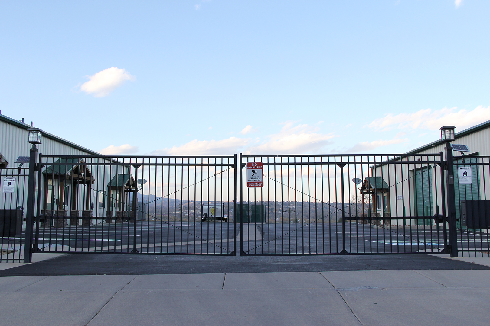 Ornamental Iron Automatic Gate Colorado Springs