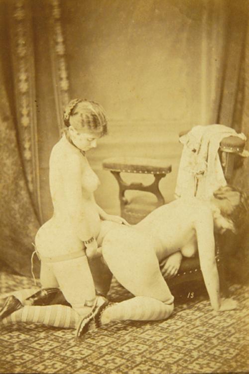 Vintage victorian lesbian porn