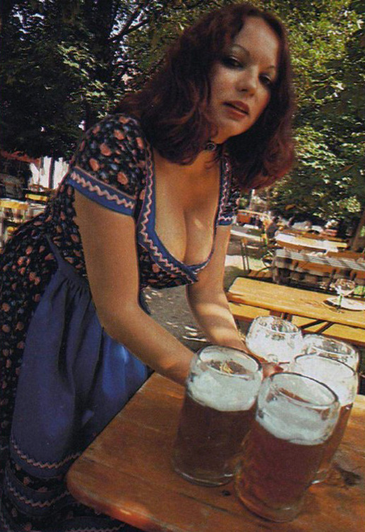 Barmaid in Dirndl Dress at Oktoberfest Pleasure Magazine No. 42 0004b.jpg