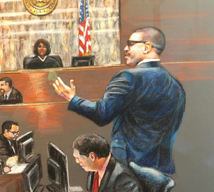 Lead Trial Attorney Sean Roberts Addresses The Court