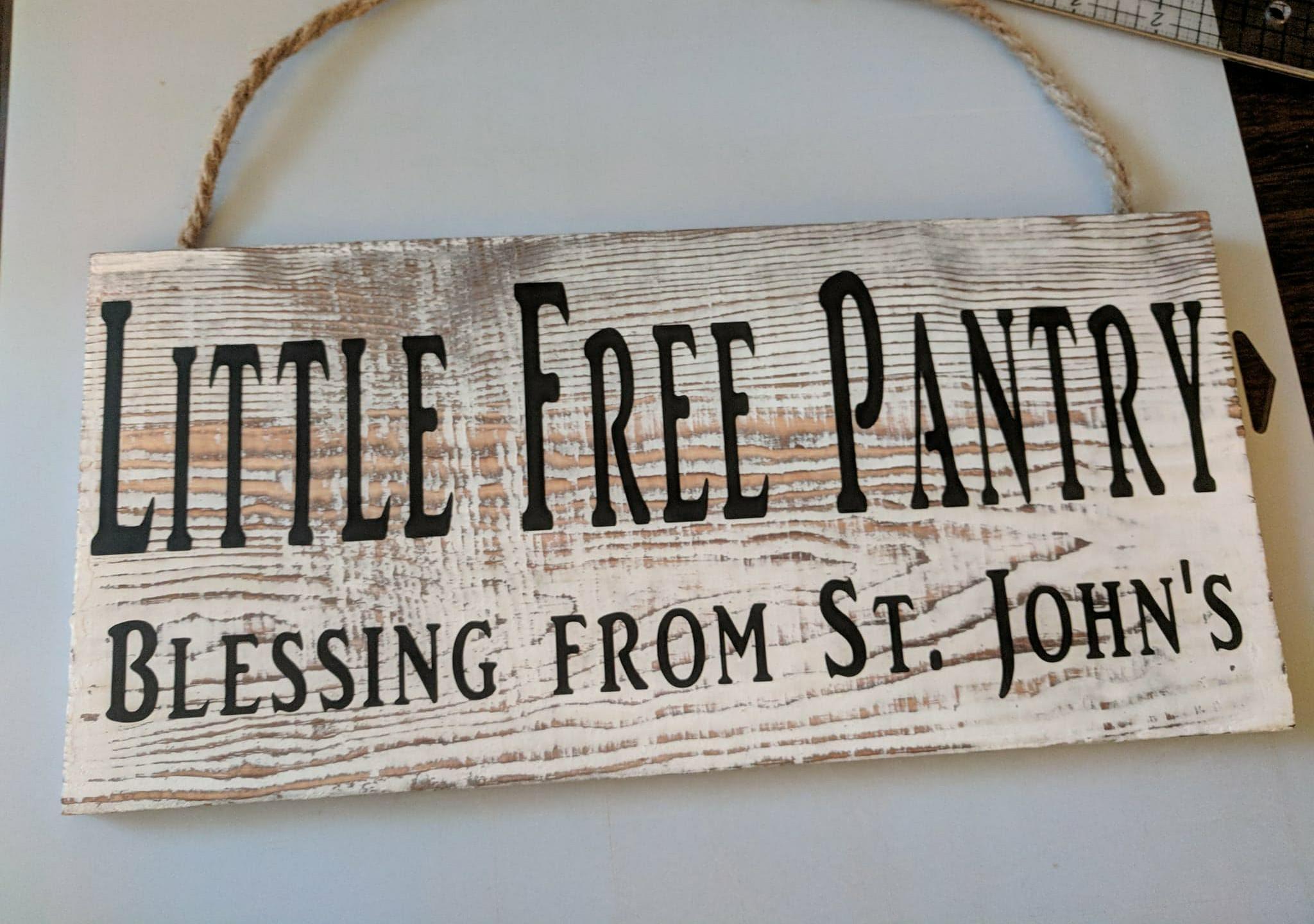 Frist Pantry advert