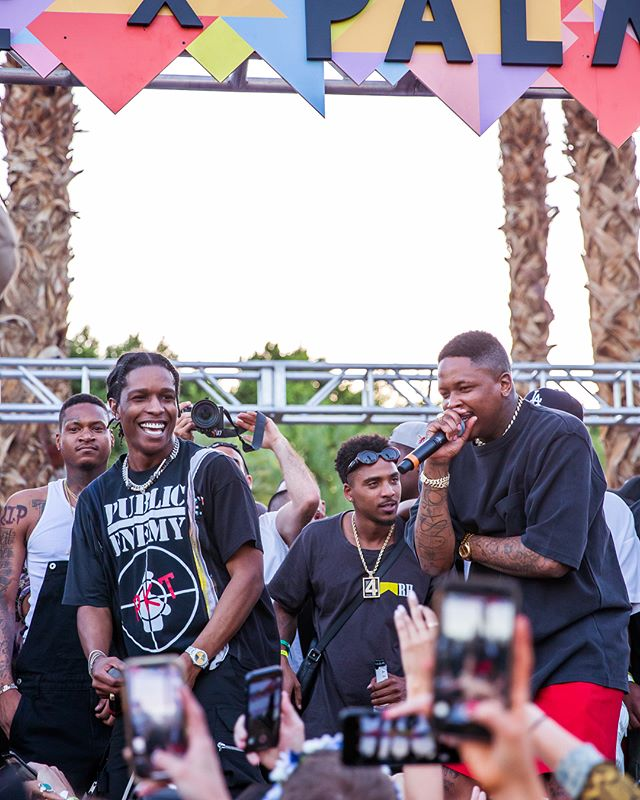 Pretty Boy Flacko x YG! for #RevolveFestival at Weekend 1 of #Coachella 🤘🏽 // 📸: #DerreckStanley