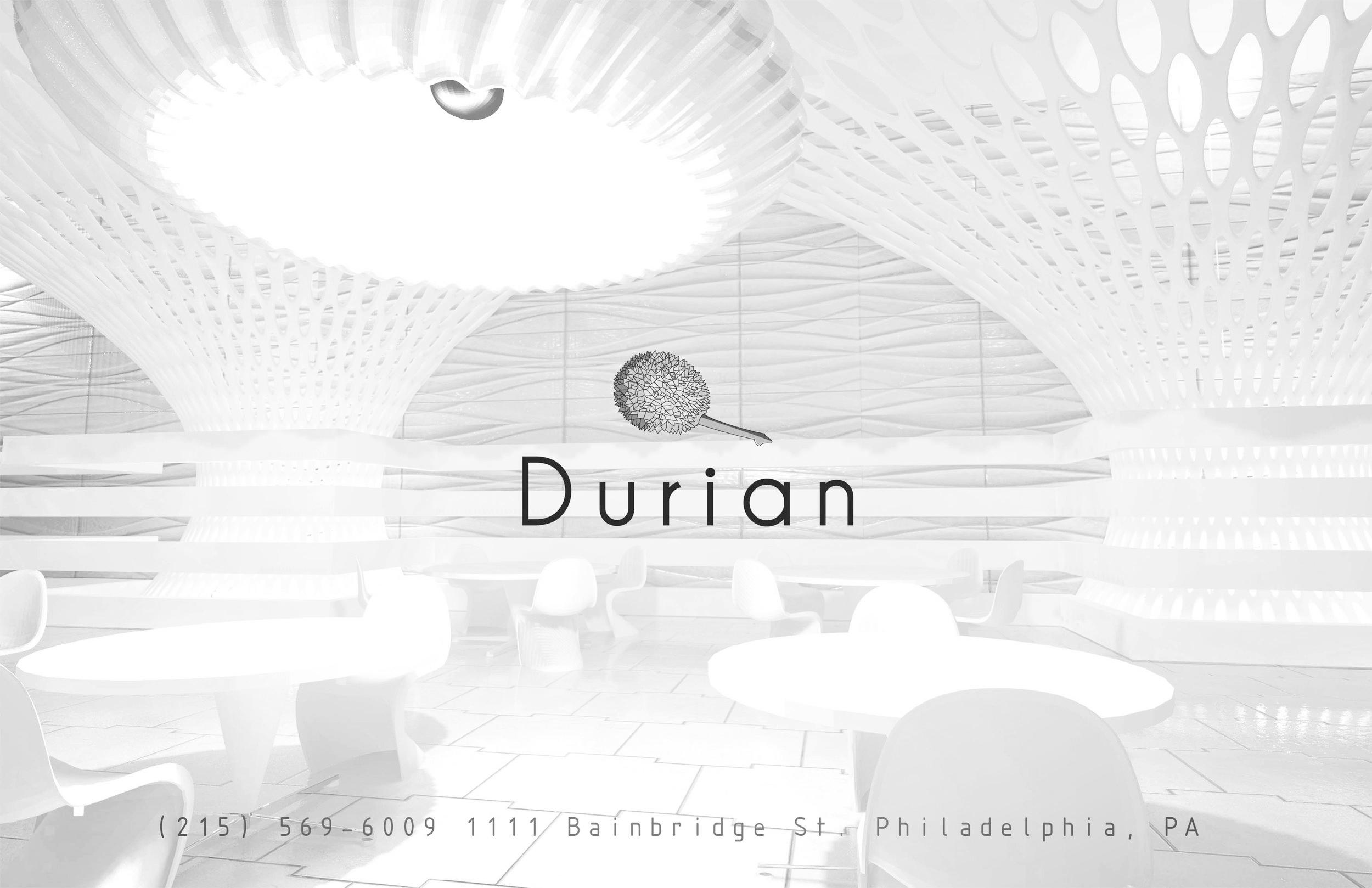 Durian restaurant - Branding Strategy.More..