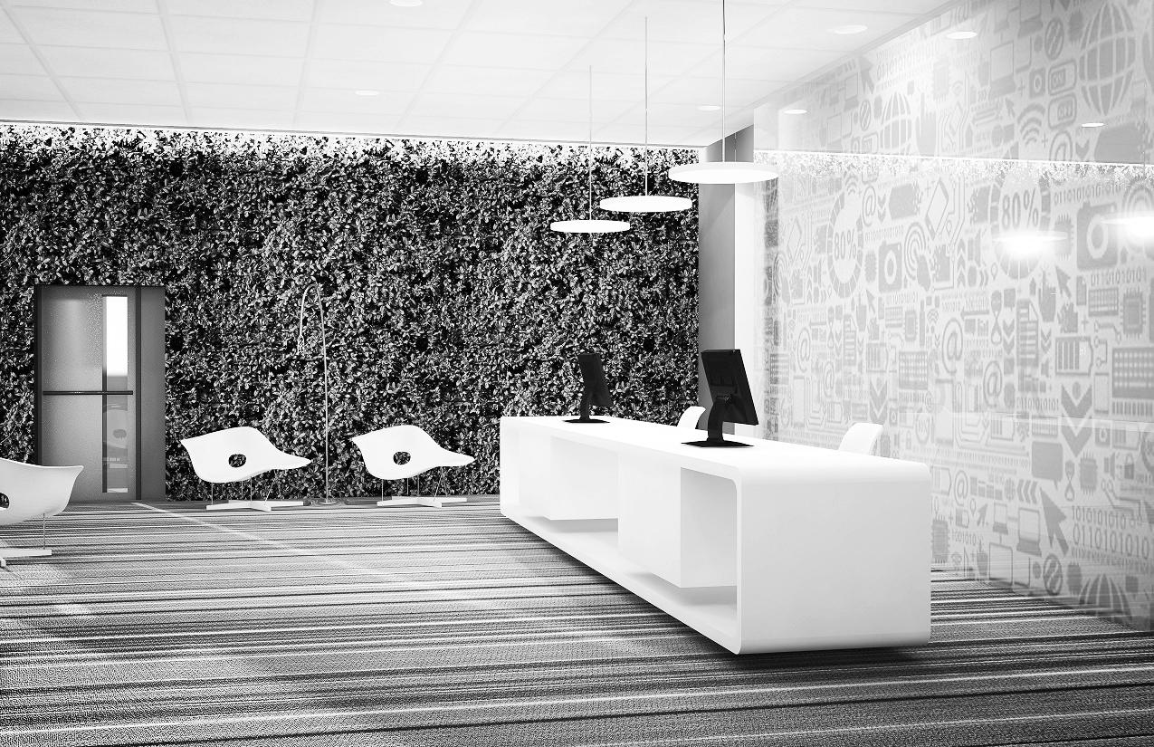 tech Office - Interior Renderings.More..