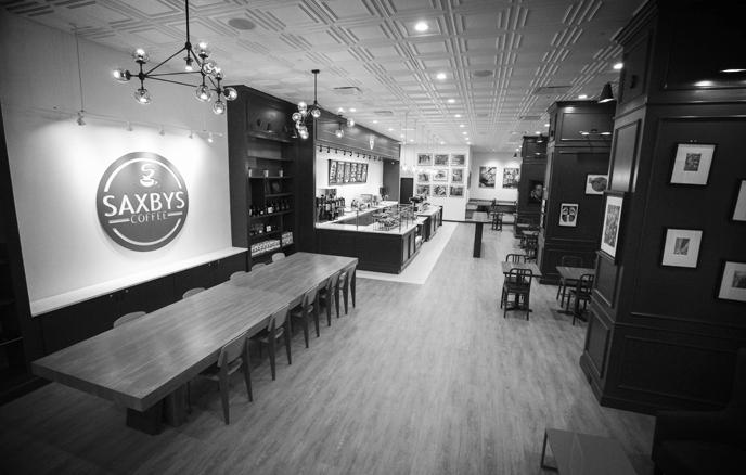 Saxby's Coffee - Various Cafes.More..