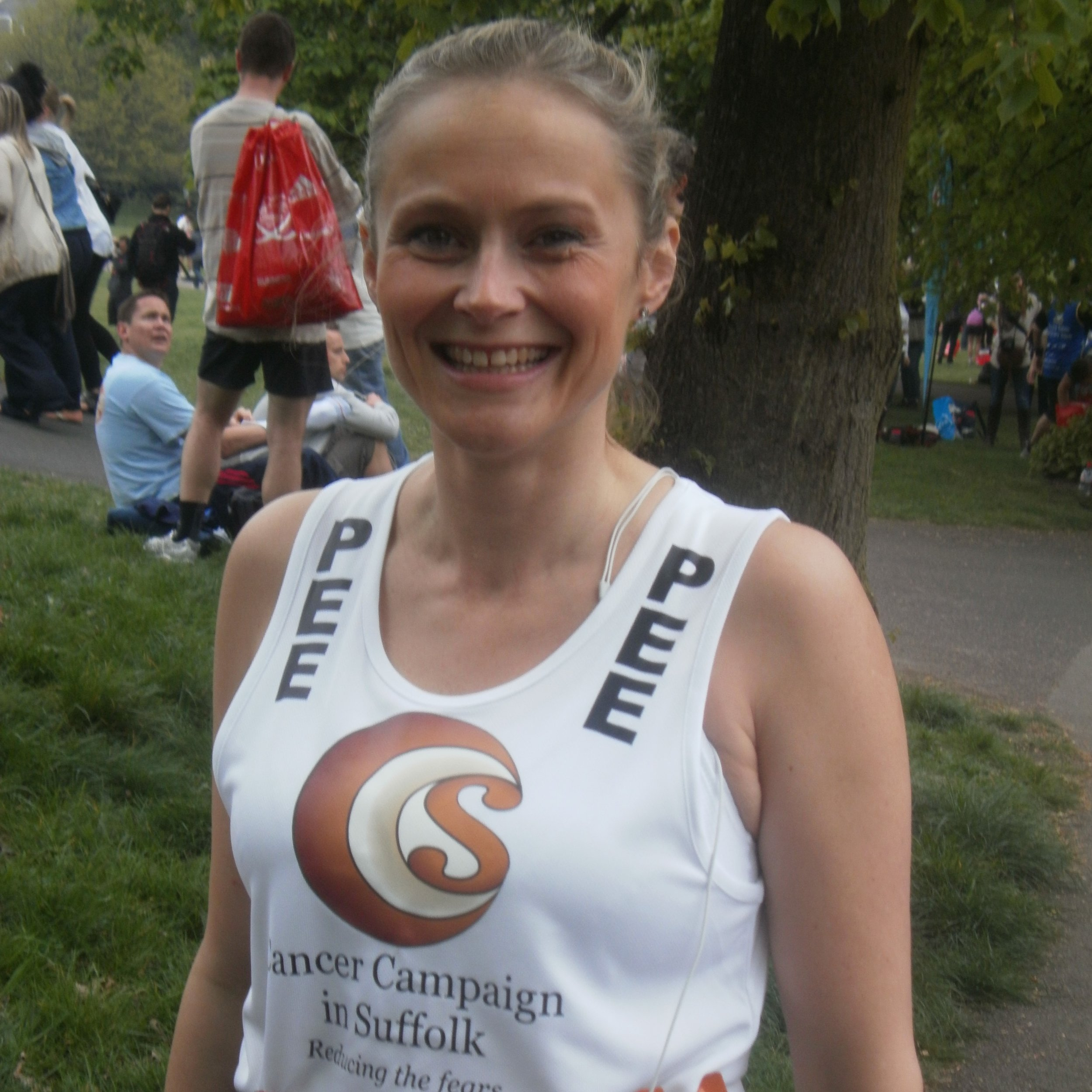 Pee at the London Marathon