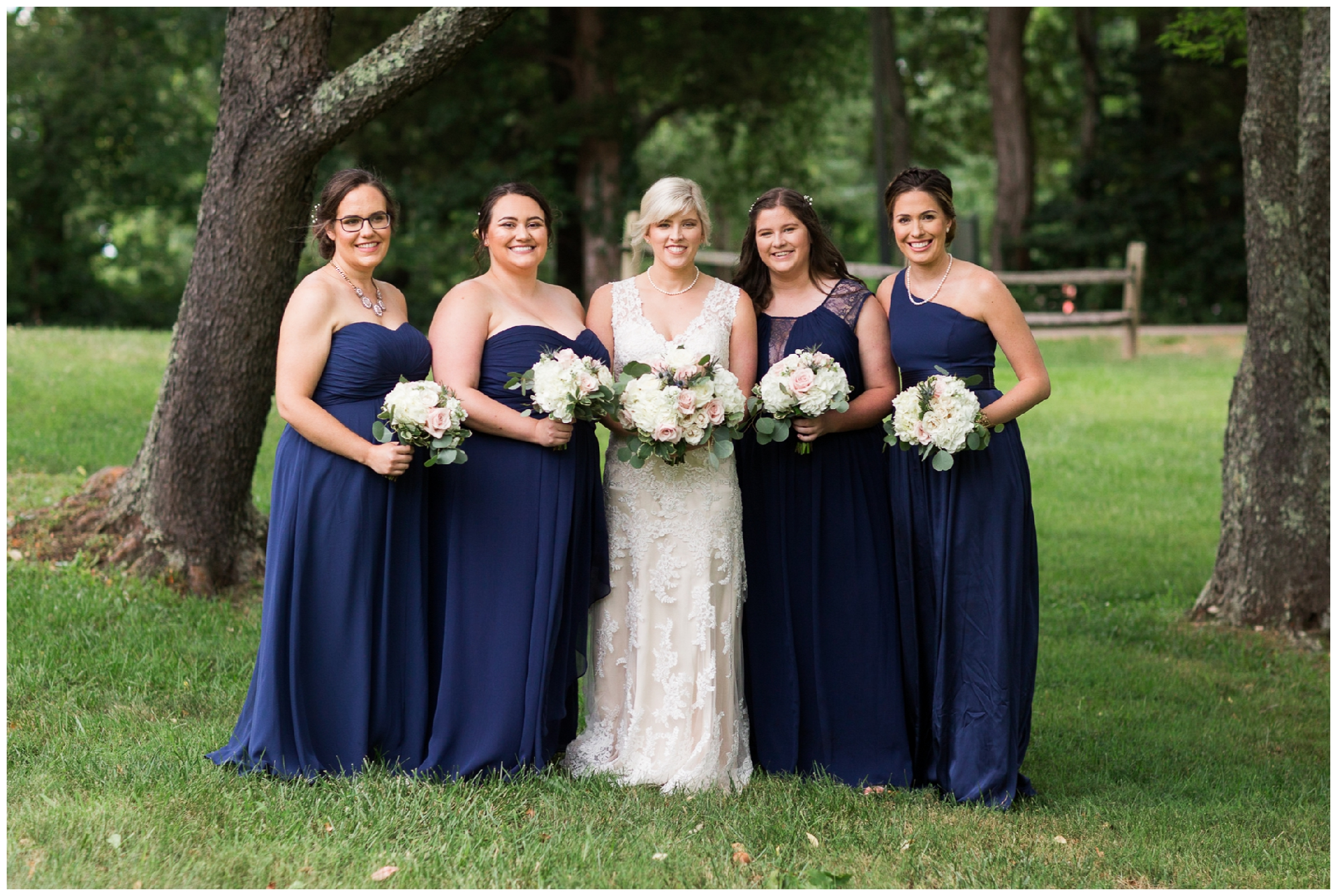 Gorgeous summer wedding at the stunning, waterside Jefferson Patterson Park featuring an outdoor ceremony, a dog guest of honor and sunset photos on the beach!