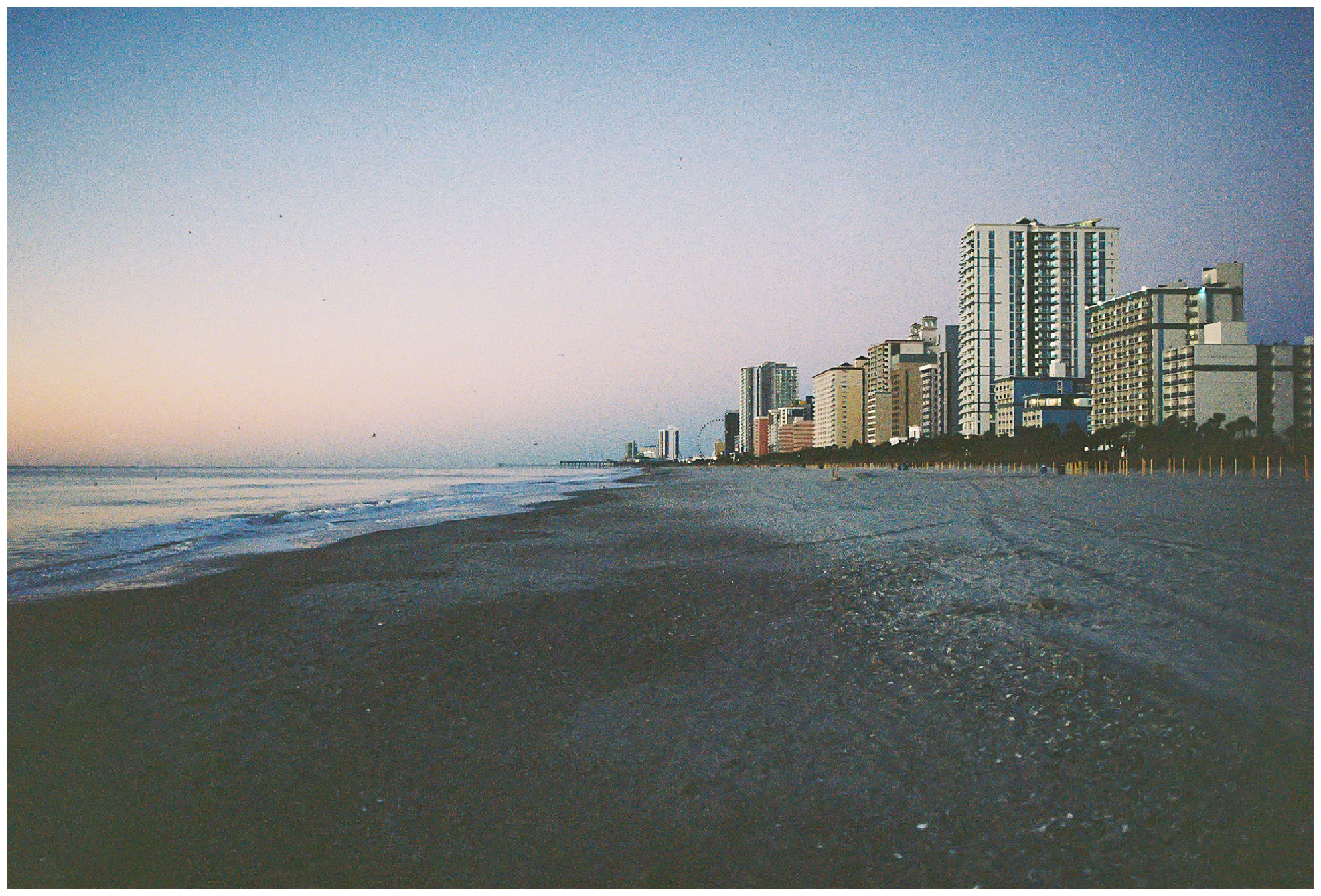Myrtle Beach, SC on film photography from Charlottesville Virginia wedding photographer Hannah Joy Photography