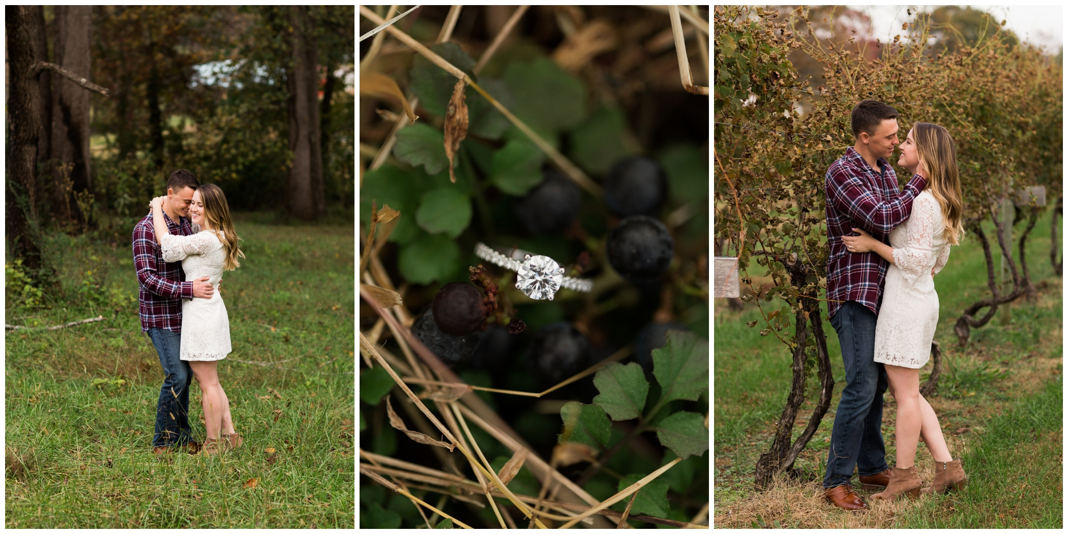 Fall engagement session inspiration and outfit ideas for Virginia couples and weddings.