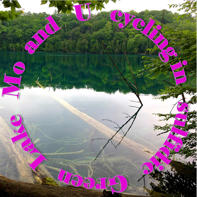 Purple bacteria in Green Lake
