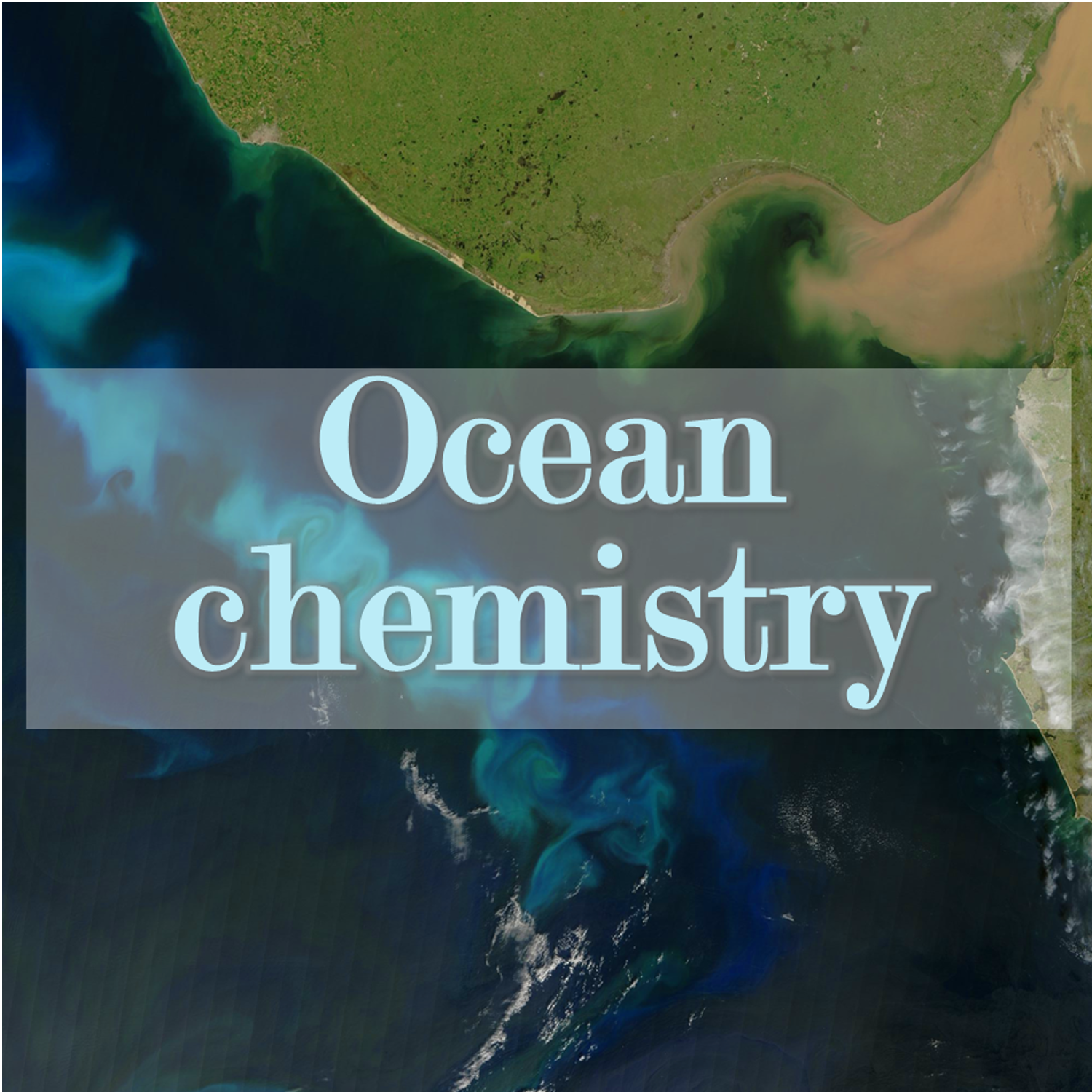 What's in the aerosols, what's in the oceans?
